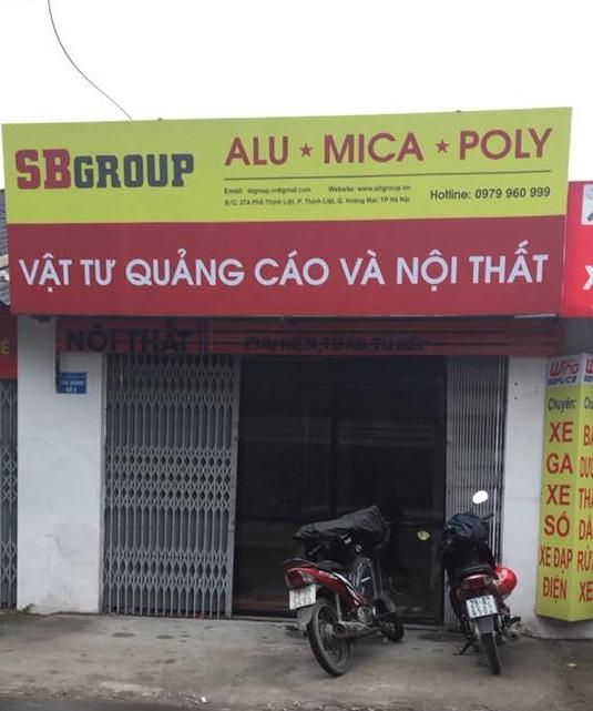 báo giá tấm nhôm alu tại Hà Nội